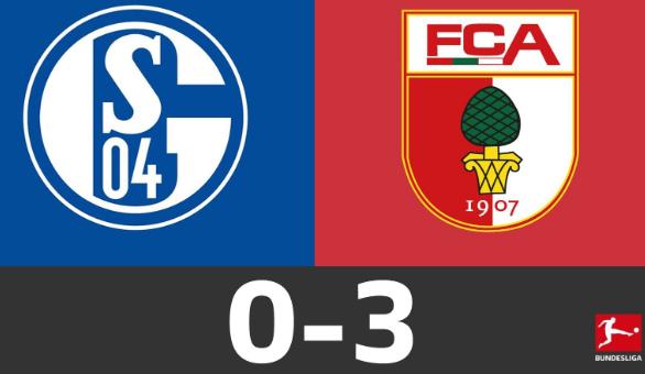 德甲-奥格斯堡3-0击败沙尔克04 勒文巴泽科尔多瓦破门