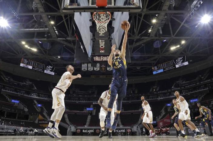 NBA-骑士116-106击败步行者迎两连胜  庄神艾克萨姆合砍40分
