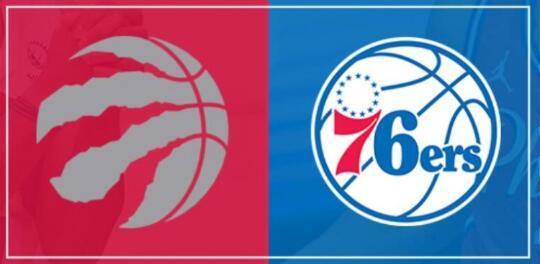 NBA-76人100-93送猛龙三连败 恩比德29+16 哈里斯26+11