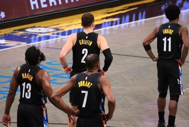 NBA实力榜:篮网居首 雄鹿&湖人紧随其后 勇士第12