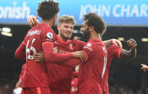 英超-利物浦3-0十人利兹联 萨拉赫破门新星重伤